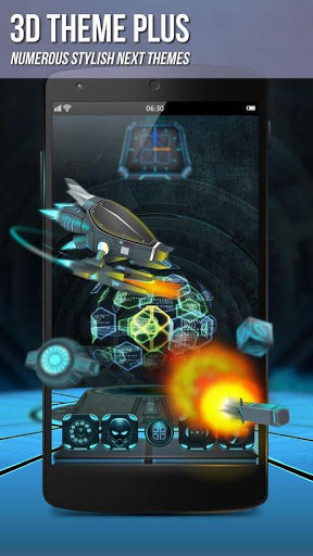 Berikutnya Launcher 3D Shell Lite