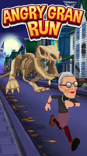 Angry Gran Run - Menjalankan Game