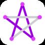 icon 1LINE – One Line with One Touch (1LINE - Satu Baris dengan Satu Sentuhan)