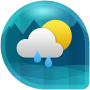 icon Weather & Clock Widget for Android (Air Forecast) (Widget Cuaca Jam untuk Android (Air Forecast))