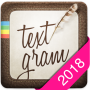 icon Textgram - write on photos (Textgram - tulis di foto)