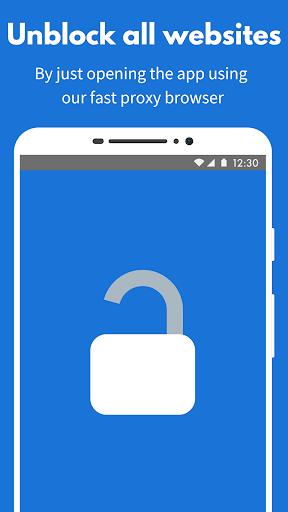 Buka Blokir Situs Facebook - Browser Proxy Gratis