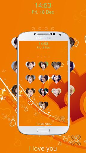 Unduh gratis love keypad lock screen APK untuk Android
